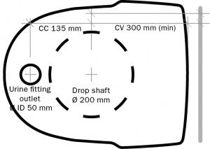 Diagram top view
